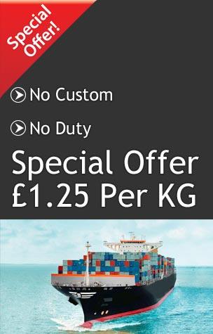 UK to Pakistan Cargo Service